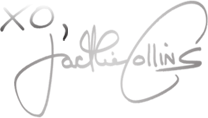 Jackie Collins' signature